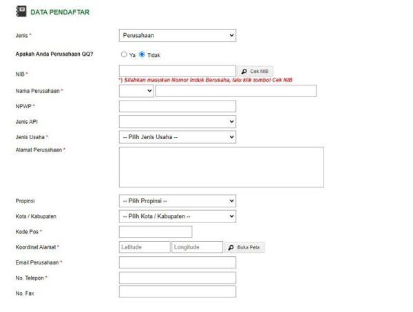 cara mendaftar BPOM